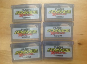 Adrians GBA Carts