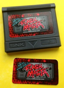 Neo Pocket Flash Masta Sticker