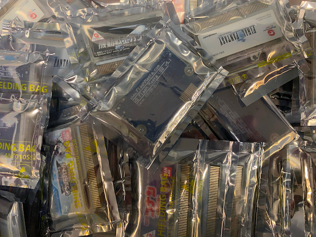 IMAGE: Batch Of Wonderswan Flash Masta Cartridges