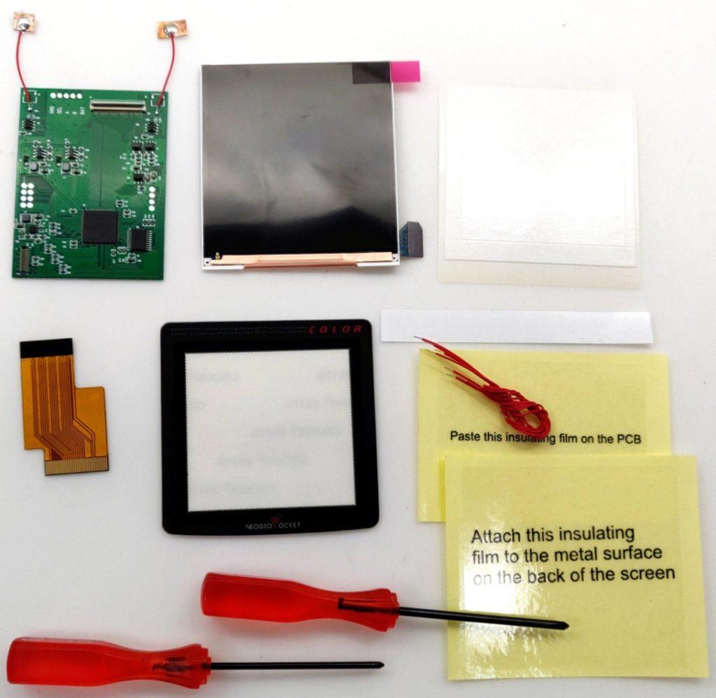 Neo Geo Pocket Color Backlight Kit