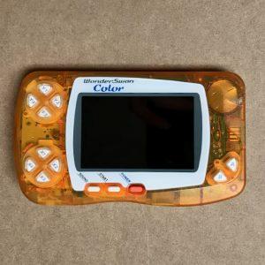 Crystal Orange WonderSwan Color With IPS LCD