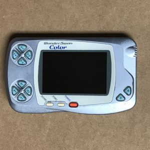 Pearl Blue WonderSwan Color With IPS LCD